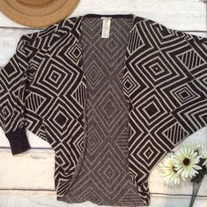 🌟5 for $25🌟 F21 Tribal Geometric Cocoon Cardigan